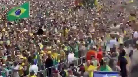 Brazil 7th September Protest over Supreme Court overreach