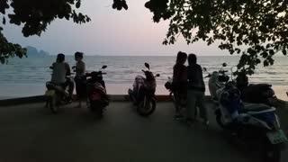 Abend am Strand von Ao Nang