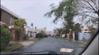 Hurricane Maria aftermath in Puerto Rico