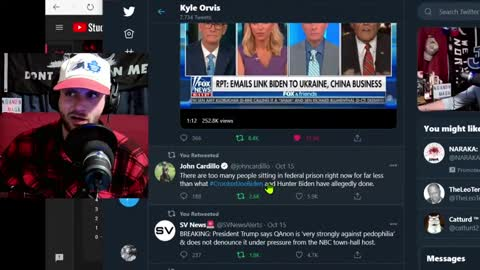CONSPIRACY REALIST Travels Through The Twitter Timeline / News Update - October 16 RED OCTOBER. HUNT