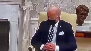 Biden Appears To Fall Asleep In A Meeting With Israeli PM..!!