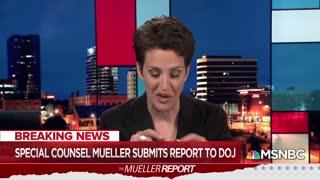 Rachel Maddow responds to Mueller report