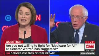 Bernie Sanders snaps at Jake Tapper