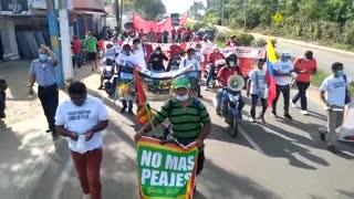 Este viernes: nueva protesta contra el peaje de Turbaco