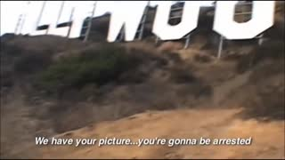 Banksy Arrested in Hollywood: Exclusive Video Footage