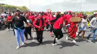 EFF members celebrate as eight members are released