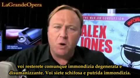 2/2 Alex Jones - Bioingegneria nei Vaccini, Acqua e Cibo - Sub ITA