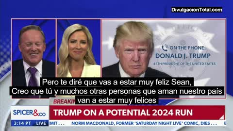 Trump about running 2024: You are going to be very happy