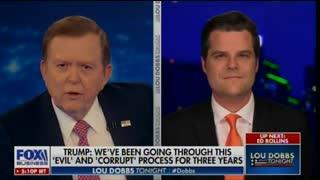 Matt Gaetz slams Mitt Romney