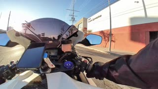Afternoon Little Ride CBR 1000rr
