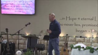 Contributions for the Tabernacle - Pastor Brian