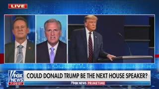 Kevin McCarthy: Trump wants to be Speaker