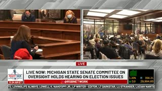 Witness #4 testifies at Michigan House Oversight Committee hearing on 2020 Election. Dec. 2, 2020.