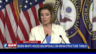 Biden White House backpedals on infrastructure threat