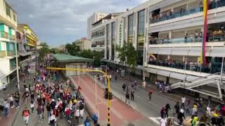 Protesta Centro de Bucaramanga