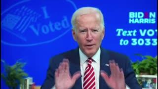 Biden Admits To Creating Voter Fraud Organization...?