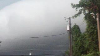 Freaky storm cloud