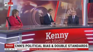 Biden's American Media Bias Gets Called Out By Australian News Anchors !