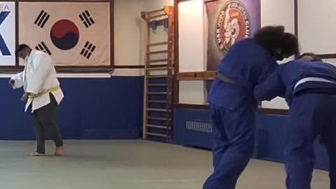 Judo A Bit Rough