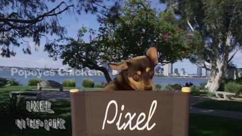 Pixel In The Park...Popeye's chicken