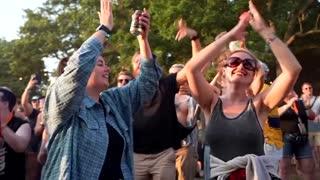Thousands descend on UK music festival