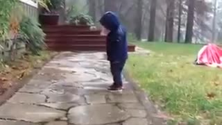 Little baby dancing funny videos