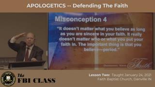 Defending Your Faith - Lesson 2
