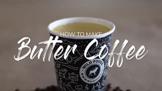 THE BEST KETO BUTTER COFFEE