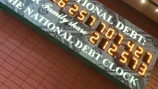 NYC USA Federal National Debt