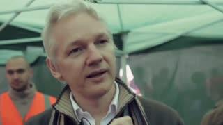 julian assange talks about money laudering