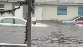 Flooding after Hurricane Dorian The Bahamas