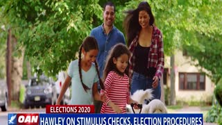 Sen. Hawley on stimulus checks, election procedures