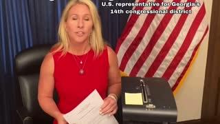Marjorie Taylor Green barks back at Nancy Pelosi