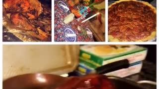 Thanksgiving preparation