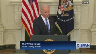 Biden ZONES OUT During Press Conference - Stops Talking When Asked a Direct Question