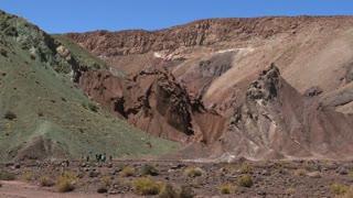 Rainbow Valley in Atacama Desert Chile