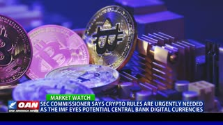 SEC commissioner says crypto rules are urgently needed