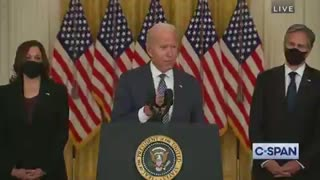 Joe Biden IMMEDIATELY Forgets First Question From Reporter