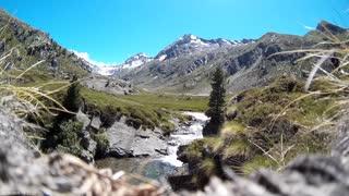 mountain summer day