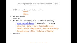 10,000's of Secrets About Black's Law Dictionary That Black's Doesn't Want You to Know !