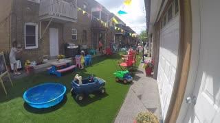 Toronto Parking Lot Transformation