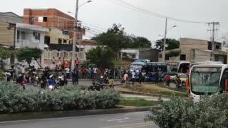 Muere peatón arrollado por bus de Transcaribe