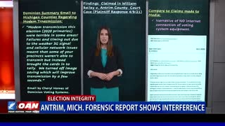 Antrim County, Mich. forensic report shows interference