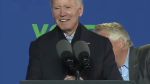 Biden Heckled While Campaigning for Terry McAuliffe in Virginia