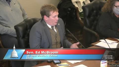 Part 6: Dominion CEO Testifies at Michigan Legislature Hearing, Dec. 15, 2020.