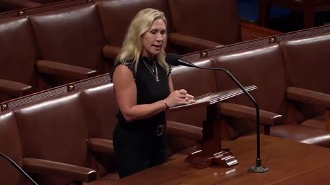 """Rep. Greene states: """"Illegal aliens are treated better in detention facilities than the J6 accused"""""""