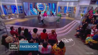 Whoopi appears to get censored during Trump rant on 'The View'