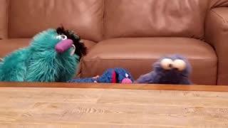 Fuzzy & Blue Puppet Show
