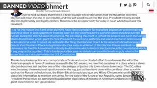 Louis Gohmert Sues Pence in Attempt to Save The Republic