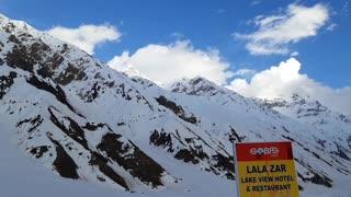Malika Parbat Mountain